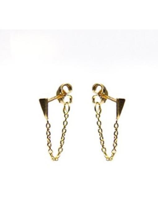 KARMA Chain Mini Cone Goldplated
