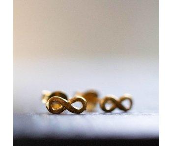 KARMA Oorstekers infinity goud