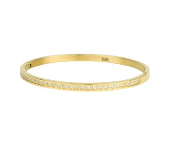 KalliKalli gouden bangle armband diamonds