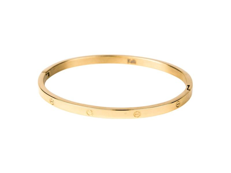 KalliKalli gouden bangle armband cartier