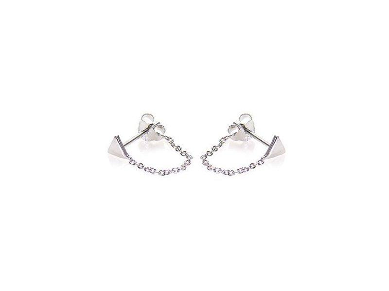 KARMA Chain Triangle Silver