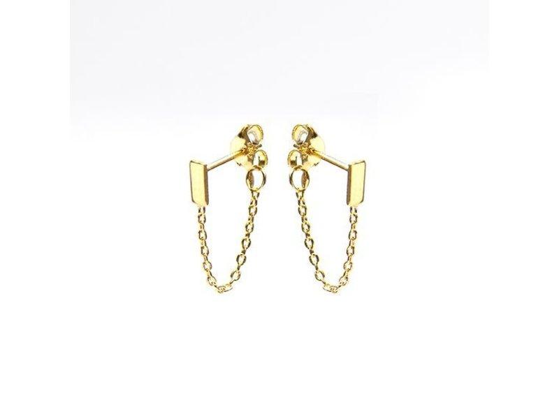 KARMA Chain Rectangle Goldplated