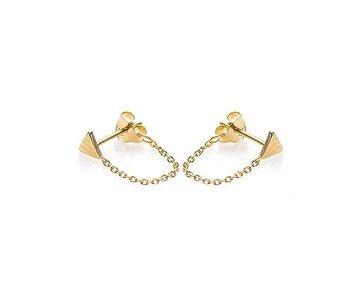 KARMA Chain Triangle Goldplated