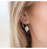 KARMA Hoops Symbols Dots Maria - Silver 925
