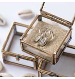 KARMA Hoops Symbols Shell 3 - Silver 925