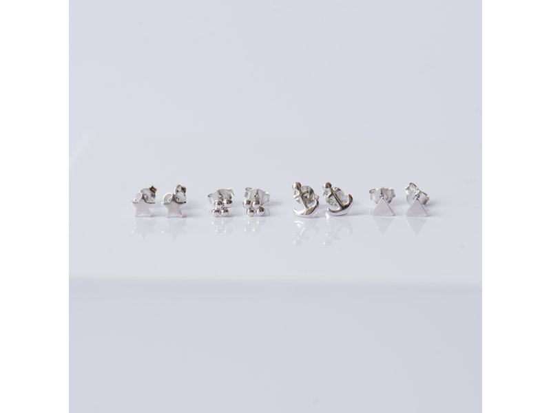 KARMA Symbols 4 dots Silver