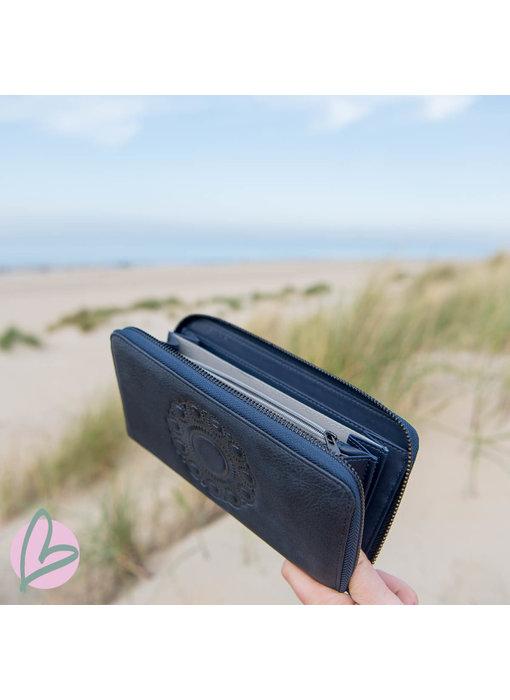 Zeeuws Zeeuwse portemonnee donkerblauw