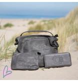 Zeeuws Zeeuwse knop portemonnee grijs