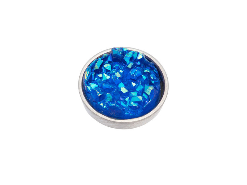 IXXXI top part drusy blue zilver