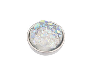 IXXXI top part drusy ab zilver
