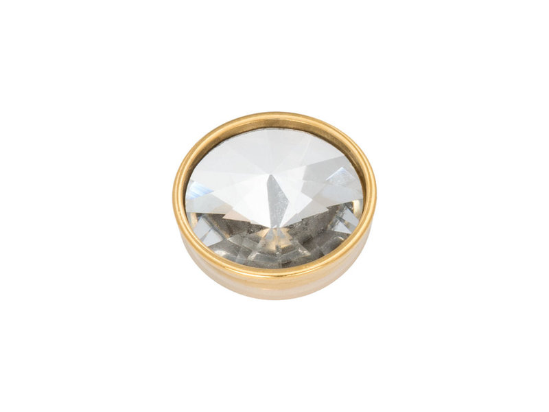 IXXXI top part pyramid crystal goud