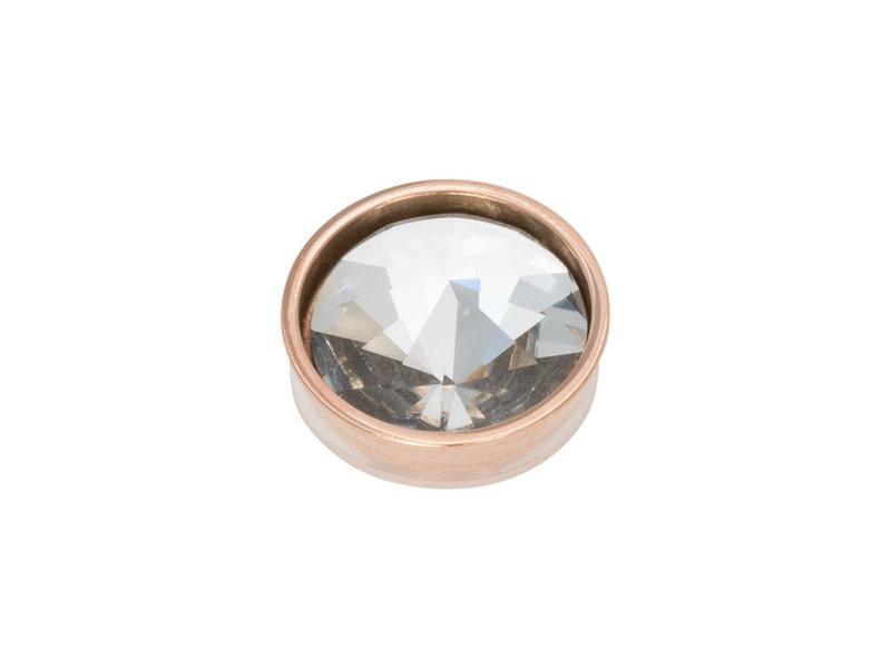 IXXXI top part pyramid crystal rosegoud