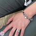 Biba armband grijs
