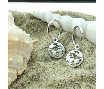 KARMA Hoops Symbols Earth - Silver 925