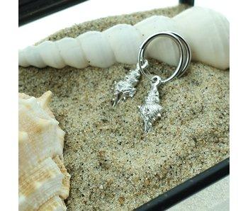 KARMA Hoops Symbols Shell 2 - Silver 925