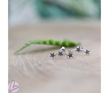 KARMA Symbols  Silver 925  XL triple stars