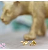 KARMA Symbols half rondje goud