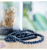 Biba Diepblauwe biba armband