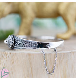 Zeeuws Echt zilveren zeeuwse knop armband