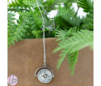Go Dutch Label Stainless steel ketting met bedel sunshine!