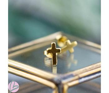 KARMA Symbols Mini Cross gold