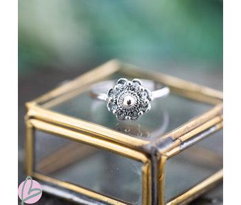 Zeeuws Zilveren Zeeuwse knop ring 8mm