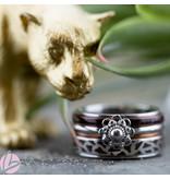 IXXXI Complete ring Zeeuwse knop animal