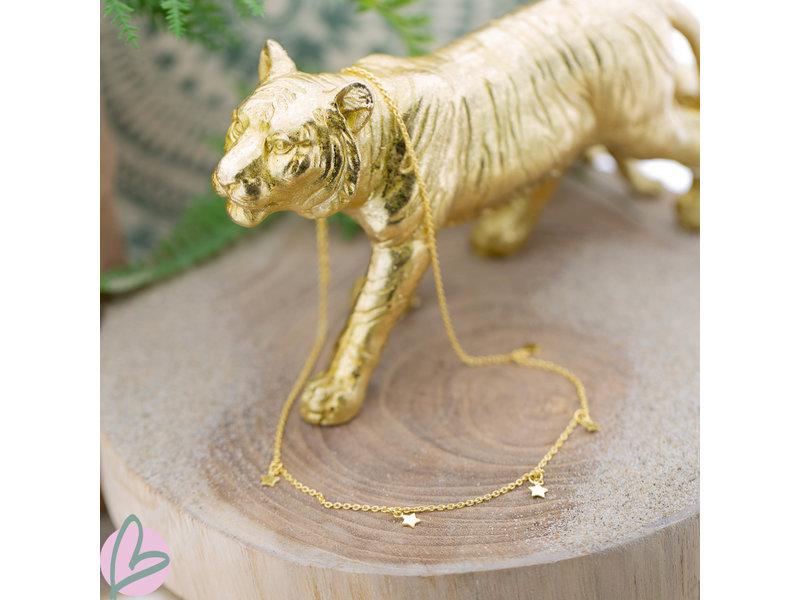 KARMA Karma necklace 5 stars gold