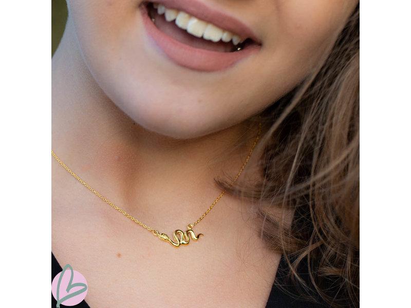 KARMA Karma necklace snake gold