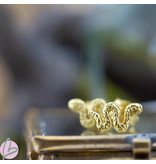 KARMA Karma Symbols Snake Goldplated