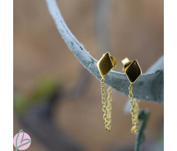 KARMA Chain Diamond Goldplated