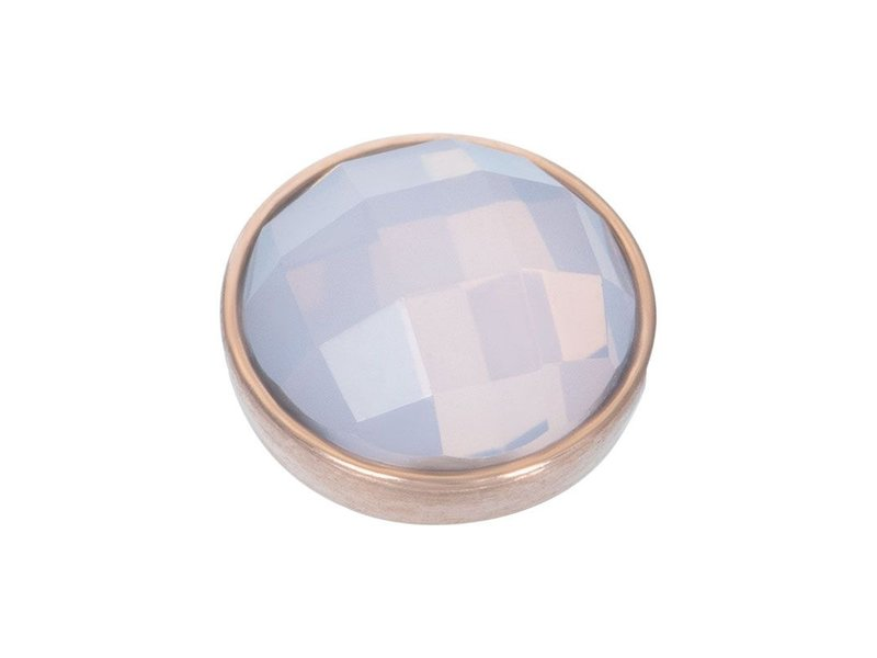 IXXXI Top part facet opaal rosegoud