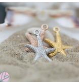 IXXXI Hanger ketting zeester goud / zilver/ rosegoud