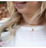 Go Dutch Label Goudkleurige schakelketting
