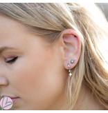 Zeeuws Zilveren Zeeuwse knop oorstekers 6mm