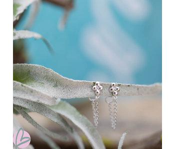KARMA Chain 4 Dots Silver