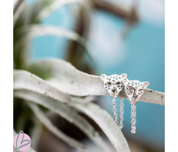 KARMA Chain Leopard Silver