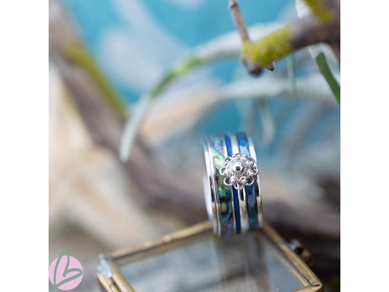 IXXXI Complete ixxxi ring met zeeuwse knop en schelp