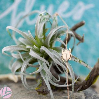 ZAG  Bijoux Rosegoud armband scarabee Zag Bijoux