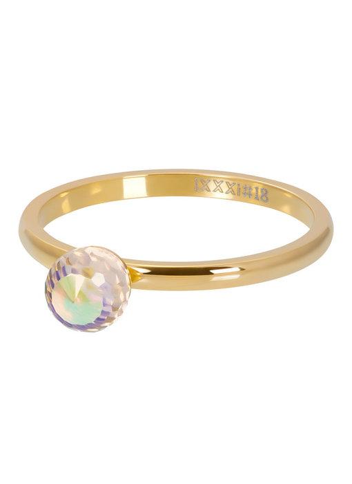 IXXXI Vulring crystal ab facet bal goud