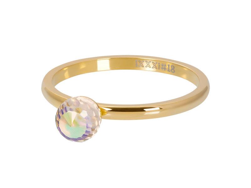 IXXXI Crystal Glass Ball AB goud