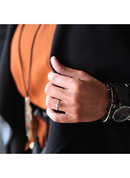 Zeeuws Stalen Zeeuwse knop ring (geen ixxxi vulring)