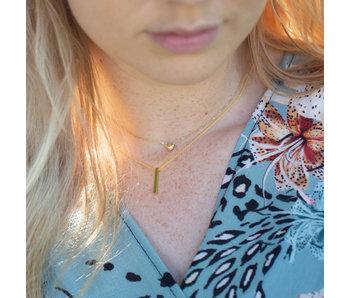 KARMA Karma goud ketting met tube