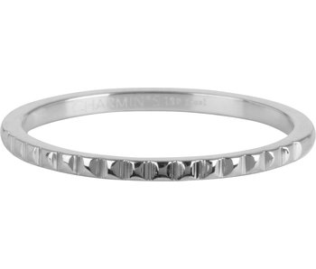 Charmins Ring zilver nefertiti