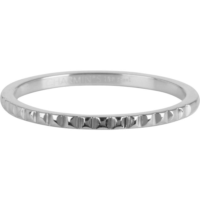 Charmins Ring staal zilver nefertiti