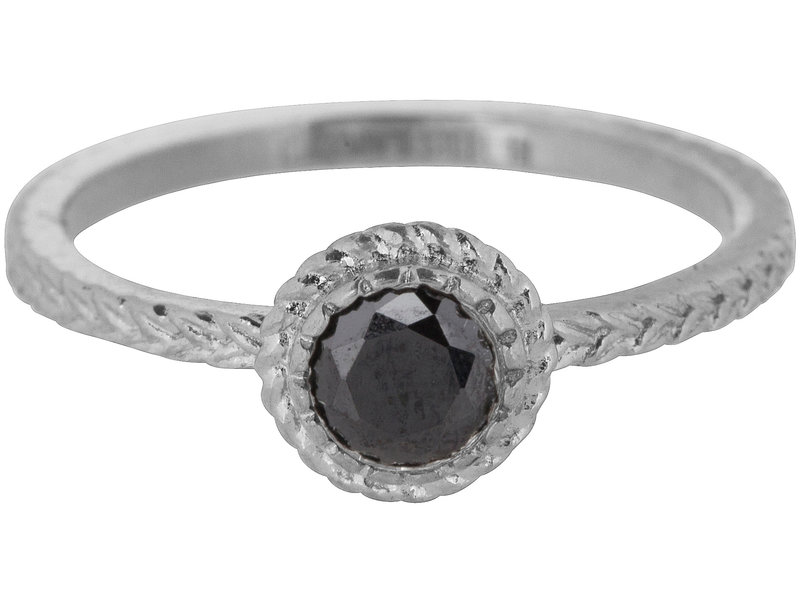 Charmins Ring shiny iconic zilver