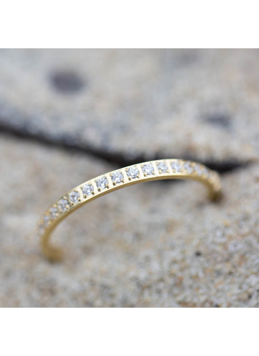Charmins Ring  Moiety Crystals  goud