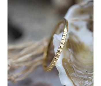Charmins Ring goud nefertiti