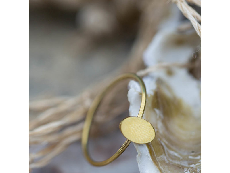 Charmins Stapelring charmins Minimalist oval