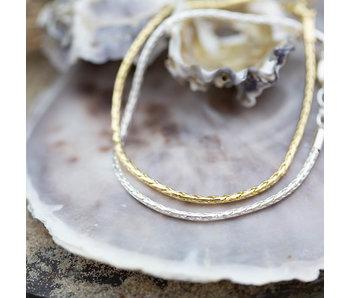 Biba Schakelarmband snake  goud of zilver